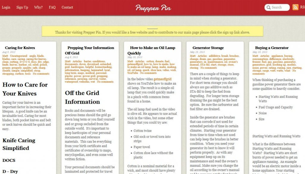 cincinnati web design first fortune marketing portfolio example 3