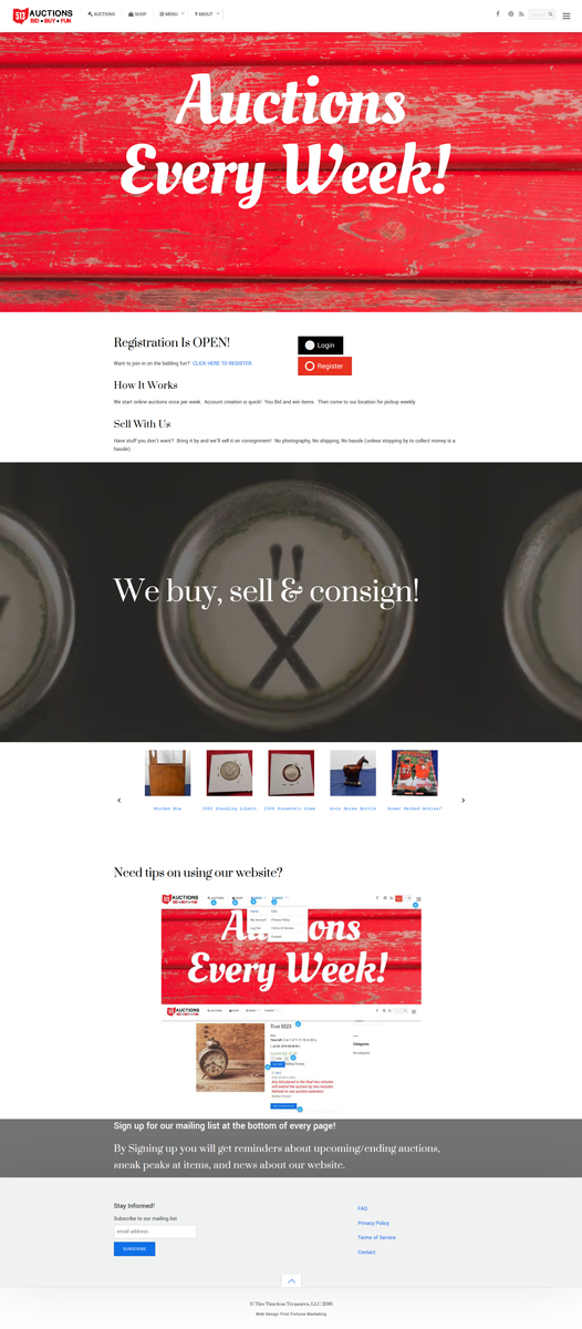cincinnati web design first fortune marketing portfolio example 6