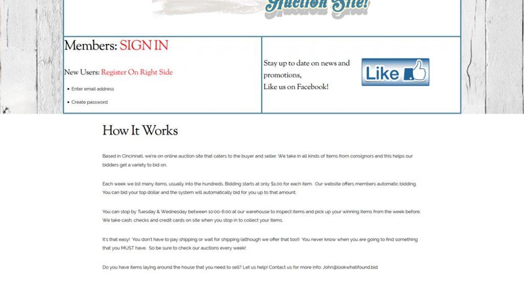 cincinnati web design first fortune marketing portfolio example 7