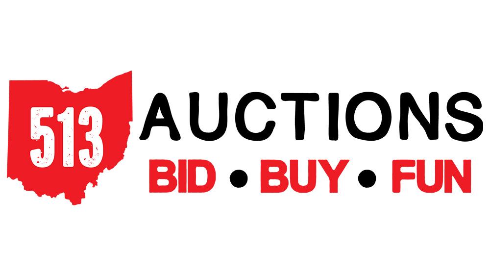 513 auction logo design first fortune marketing cincinnati, ohio graphic design