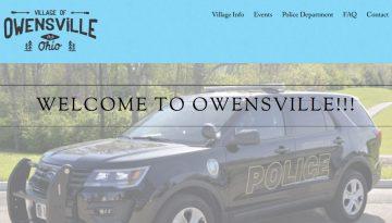 Web Design Portfolio website image ohio city owensville