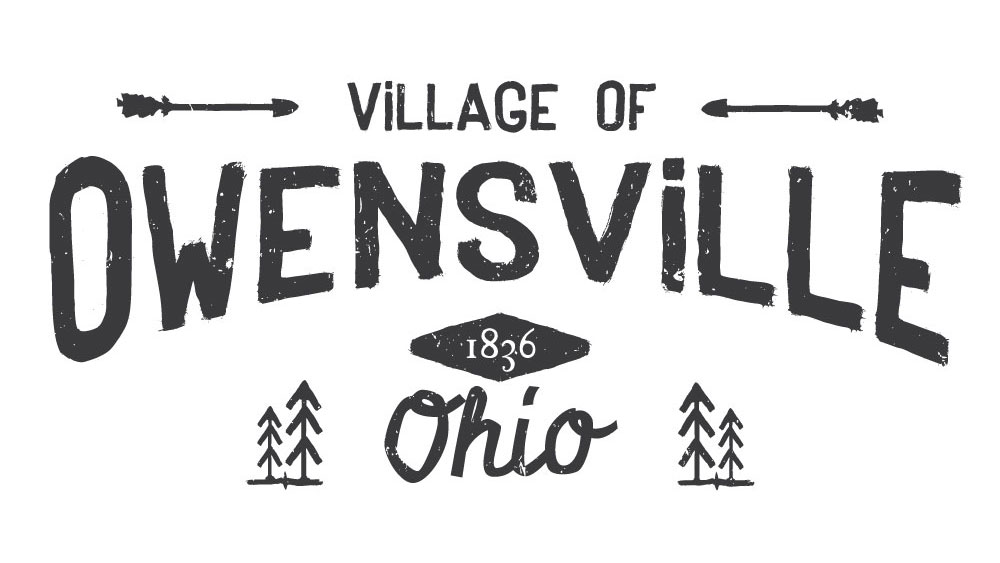 first fortune marketing logo example owensville ohio village logo